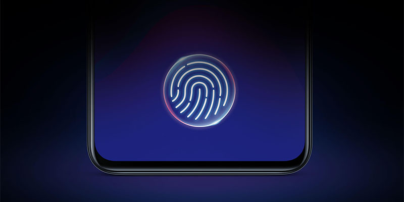 Vivo V11 Pro Screen Touch ID