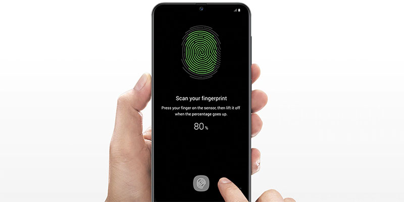 Fingerprint under display Samsung Galaxy A50s